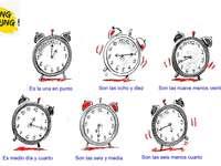 Puzzle ¿qué hora es?