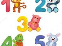 numere și animale