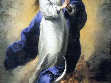 Непорочно зачатие на Мария (картина на Бартоломе Естеб