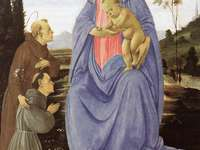 Sfântul Antonie din Padova îl încredințează pe călugăr NM