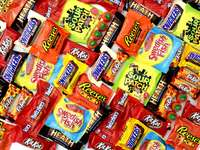 exploze cukrovinek