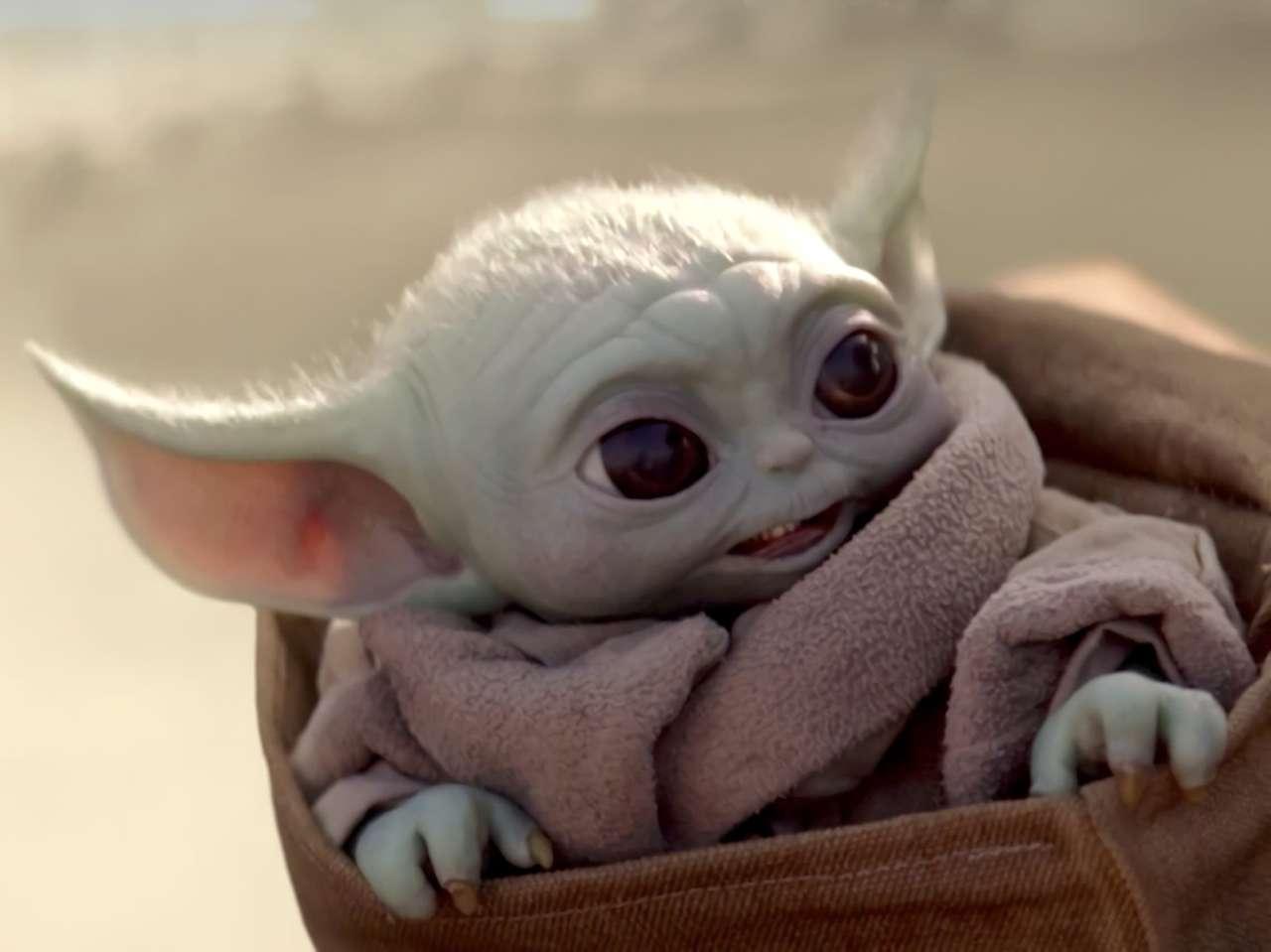 Bébé yoda - Baby Yoda est le plus mignon de Star Wars (8×6)