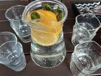 koud drinken op een warme dag
