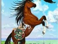Indisches Pferd