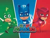 Οι PjMasks-Heroes σώζουν την ημέρα