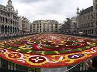 Флорален килим