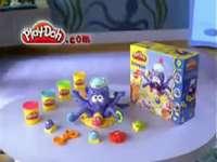 p es para play-doh pulpo