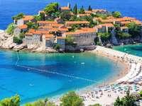 плаж в Черна гора
