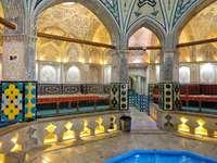 интериор на дворец в Иран