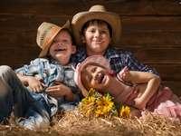 děti v kloboucích