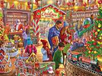 Vánoční cukrárna