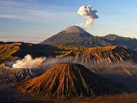 вулканичен остров в Азия