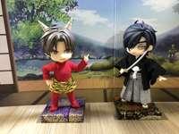 Demon Hasebe i Mitsu w yukata