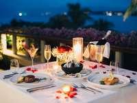 Вечеря на терасата