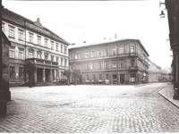 Chomutov Husovo náměstí r. 1952
