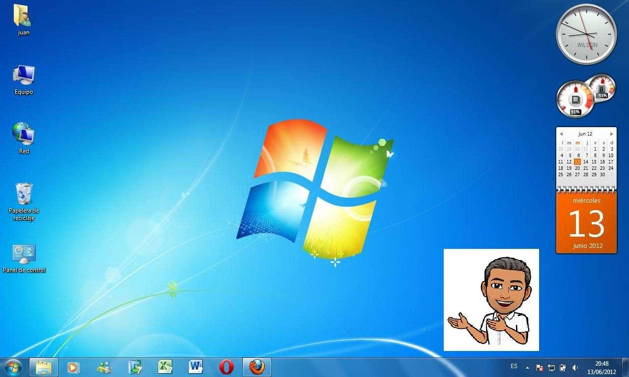 Επιφάνεια εργασίας των Windows - Προσδιορίστε στοιχεία στην επιφάνεια εργασίας των Windows (11×7)