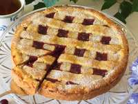 Αυστριακή μαρμελάδα κέικ - linz