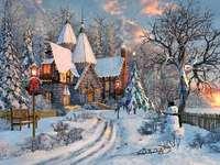 Зимен пейзаж.