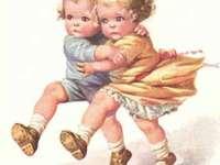 děti se učí tancovat