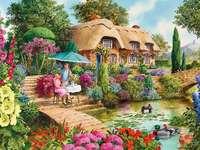 Jardim de verão