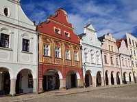 Telc city in Czech Republic