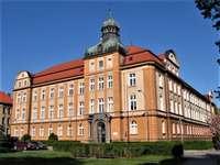 Cidade de Opava na República Tcheca