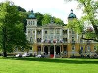 Спа град Мариенбад в Чехия