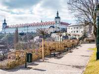 Kutna Hora domkyrkastad i Tjeckien