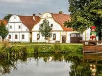 Holasovice történelmi város a Cseh Köztársaságban