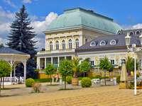 Balneário de Franzensbad na República Tcheca
