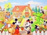 casa mickey mouse