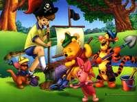 Christofer Robin och vänner