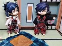 Sadamune et Mitsutada