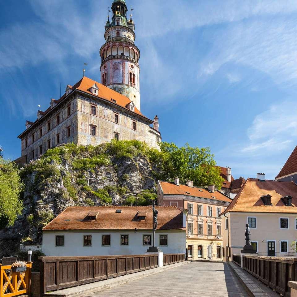 Πόλη Cesky Krumlov στη Δημοκρατία της Τσεχίας