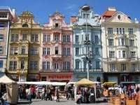 Cidade de Pilsen na República Tcheca