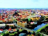 Città di Pilsen in Repubblica Ceca
