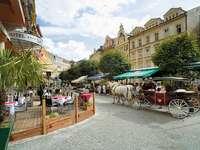Karlovy Vary Spa en la República Checa