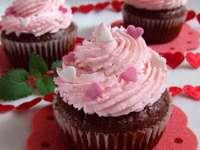 cupcakes για την ημέρα του Αγίου Βαλεντίνου