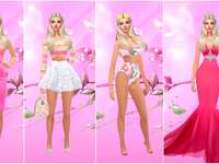 Barbie in the world of fashion