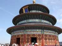 Ett imponerande tempel i Peking