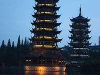 Två pagoder