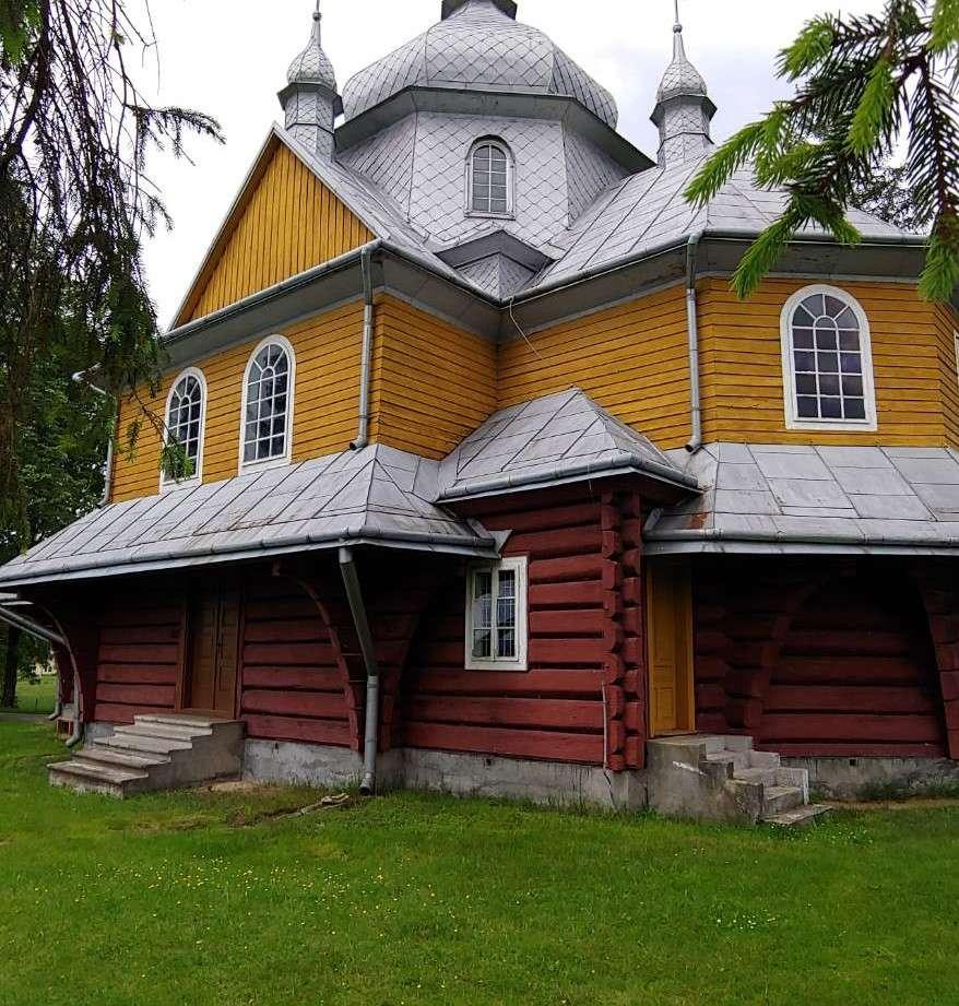 igreja igreja ortodoxa em algum lugar