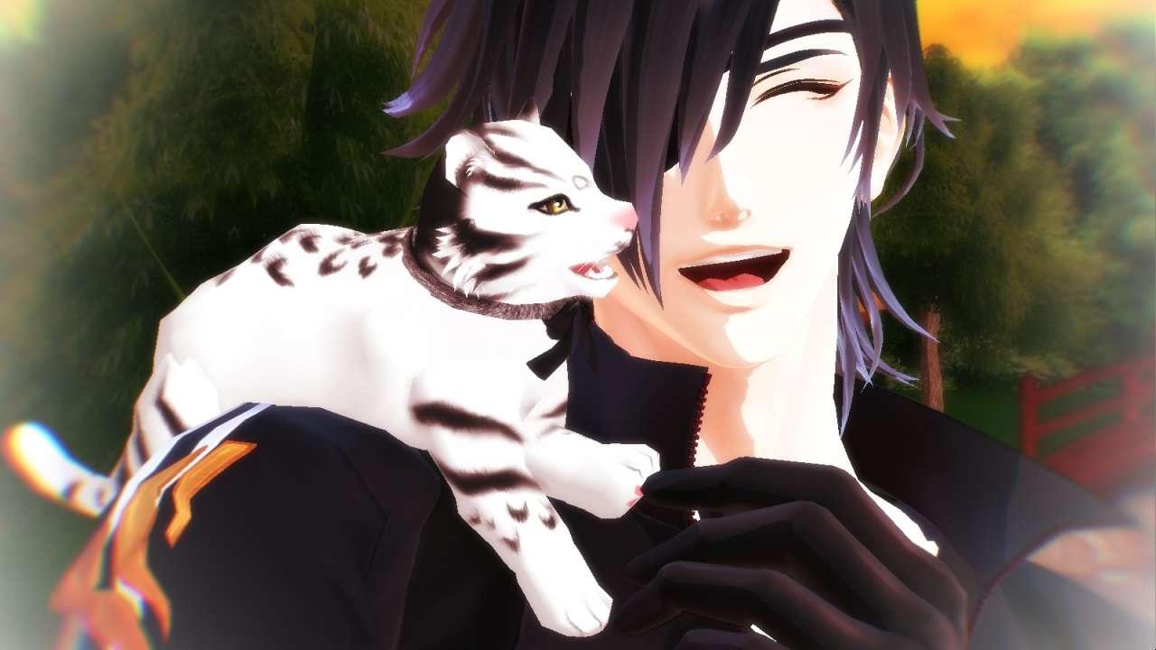 Mitsu with a baby tiger