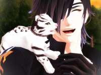 Mitsu avec un bébé tigre