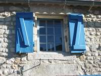 Синият прозорец