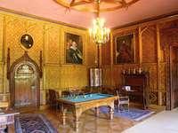 Салон на замъка Сихров Чехия