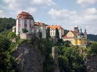 Vranov nad Dyji slott Tjeckien