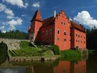 Schloss in Südböhmen Tschechei