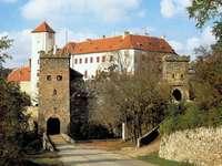 Bitov slott Tjeckien