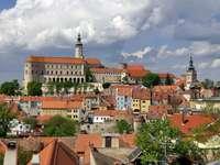 Mikulov kastély Csehországban